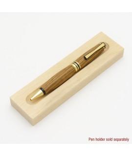 Bowtie Style Ballpoint Pen in Zebrawood
