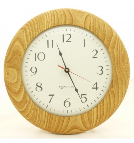 Custom Clock Housing in Butternut