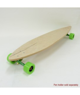 Custom Pintail Longboard with Alternate Cross  Design