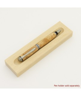 Sedona Style Fountain or Rollerball Pen in Madrone Burl