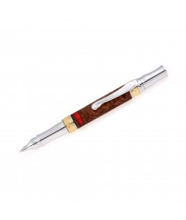Broadwell Nouveau Style Ballpoint Pen in Banksia Seed Pod