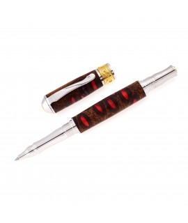 Broadwell Nouveau Style Rollerball Pen in Banksia Seed Pod