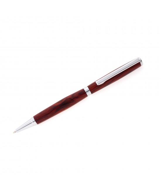 Slimline Style Ballpoint Pen in Cocobolo